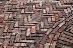 Old Brick Paving Royalty Free Stock Image