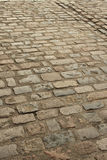 Old brick paving portrait Stock Photos