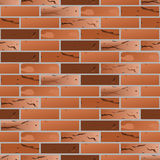 Old brick seamless pattern. Vector old brick seamless pattern Stock Photography