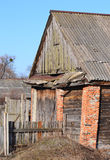 Old brick shed Royalty Free Stock Photos