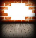 Old brick with space for text Royalty Free Stock Images