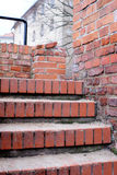 Old brick stairs steps Royalty Free Stock Image