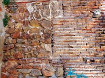 Old Brick and Stone Wall Stock Images