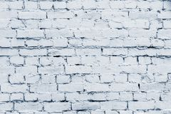 Old brick surface of pale silvery color Stock Photo