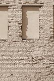 Old brick textured surface of beige color Royalty Free Stock Photo