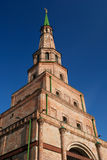 Old brick tower in Kazan (Tatarstan) stock images