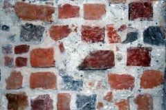 Old brick wall. Old medieval colorful brick wall Stock Photos