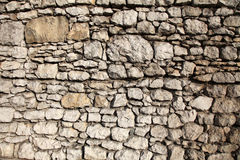 Old brick wall. In Krakow castle Royalty Free Stock Photo