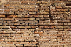 Brown bricks wall Stock Photos