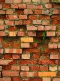 Old brick wall. Crumbling down Stock Image