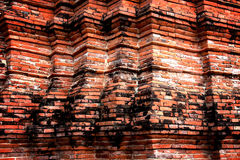 Old Brick Wall. In ancient city Royalty Free Stock Photos