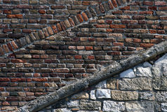Old brick wall-3 Royalty Free Stock Images