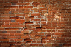 Old brick wall. Can be used as a background Stock Image