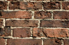 Old brick wall. Old wall from a red brick Royalty Free Stock Image