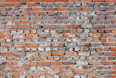 Old brick wall. Old brick texture and pattern Stock Image