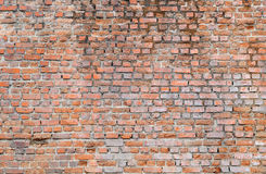Old brick wall. Old brick texture and pattern Royalty Free Stock Photography