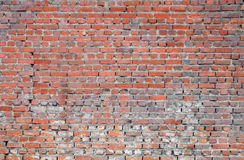 Old brick wall. Old brick texture and pattern Stock Photos