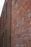 Old Brick Wall. In alleyway Royalty Free Stock Image