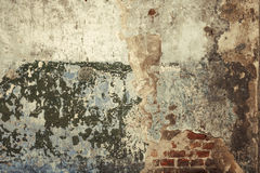 Old brick wall. Old abstract grungy brick wall Stock Photo
