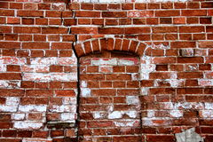 Old Brick Wall. Old aged brick wall background Royalty Free Stock Images