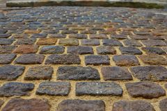 Brick wall - ancient fortress. Old brick wall - ancient fortress for background Royalty Free Stock Photos