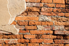 Old brick wall. As background Stock Photo