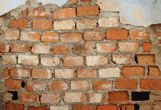 Old brick wall as background Royalty Free Stock Photo