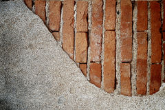 Old brick wall as background Royalty Free Stock Image
