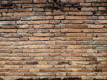 Old brick wall. For background stock image