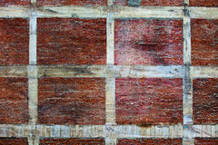 An old brick wall background. Royalty Free Stock Images