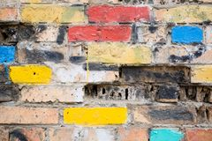 old brick wall.background Royalty Free Stock Photography
