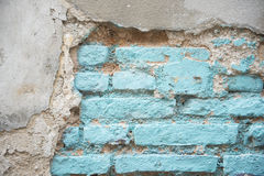 Old brick on the wall for background Royalty Free Stock Image