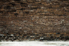 Old brick wall in background Royalty Free Stock Photography