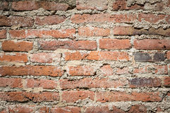 Old brick wall, background Royalty Free Stock Photography