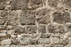 Old brick wall background. Old castle brick wall background royalty free stock photography