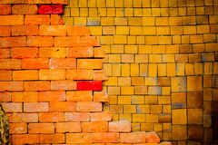 Old  brick wall is background. Old  brick wall is classic background Royalty Free Stock Images