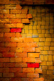 Old  brick wall is background. Old  brick wall is classic background Stock Photo