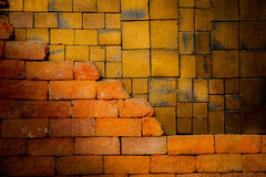 Old  brick wall is background. Old  brick wall is classic background Royalty Free Stock Image