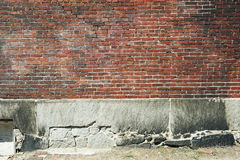 Old brick wall background. For design Royalty Free Stock Photos