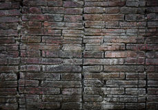 Old brick wall background. Old brick wall grunge background Royalty Free Stock Photography