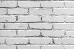 Old brick wall background. Grunge texture. Light surface stock photography