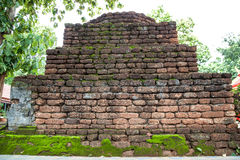 Old brick wall. For background and history Royalty Free Stock Images
