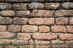 Old brick wall. For background and history Stock Images