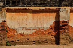 Old brick wall in a background image Royalty Free Stock Images