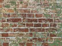 Old brick wall. In a background image Royalty Free Stock Photography