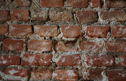 Old brick wall. In a background image Royalty Free Stock Image