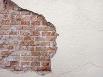 Old brick wall in a background image Royalty Free Stock Image