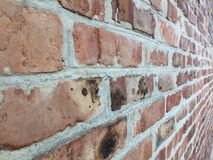 Old brick wall in a background image Stock Photo