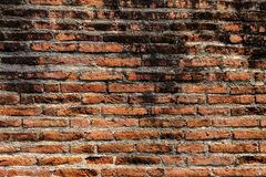 Old brick wall in a background image. Selective focus Royalty Free Stock Photos