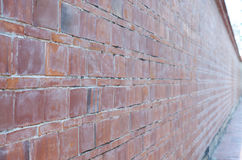 Old brick wall in a background image Royalty Free Stock Photo